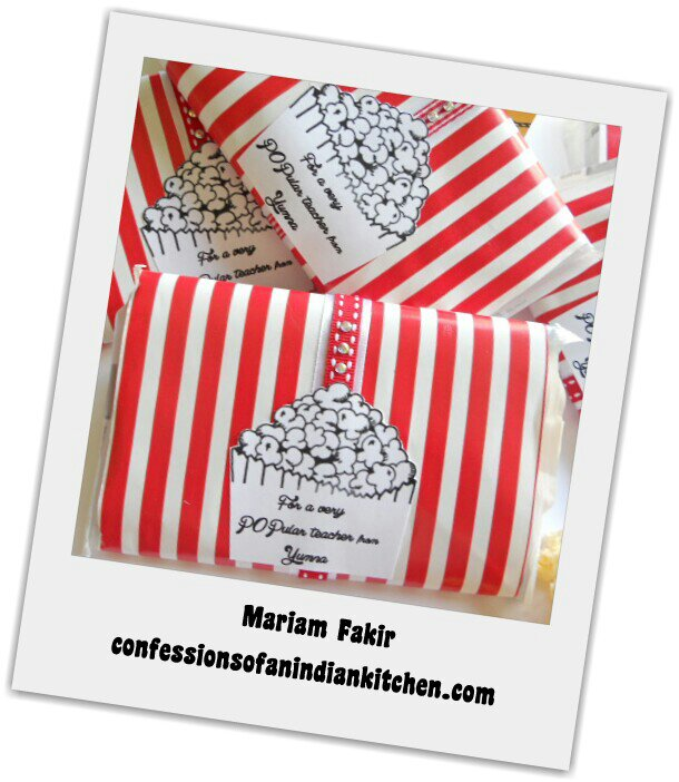 Popcorn Teacher Appreciation Ideas | just b.CAUSE